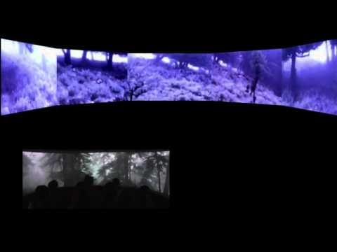 A.R.T.E. immersive environment, Corfu 2013