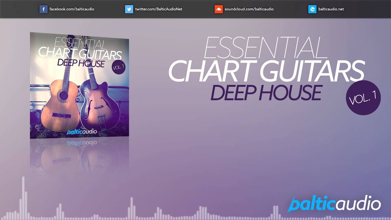 Essential Chart Guitars Vol 1: Deep House (120+ guitar loops, 20+ MIDI files, 3 Kits)