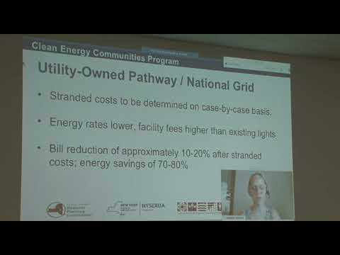 Utility and Municipality Owned LED Conv Options  National Grid: Session 2