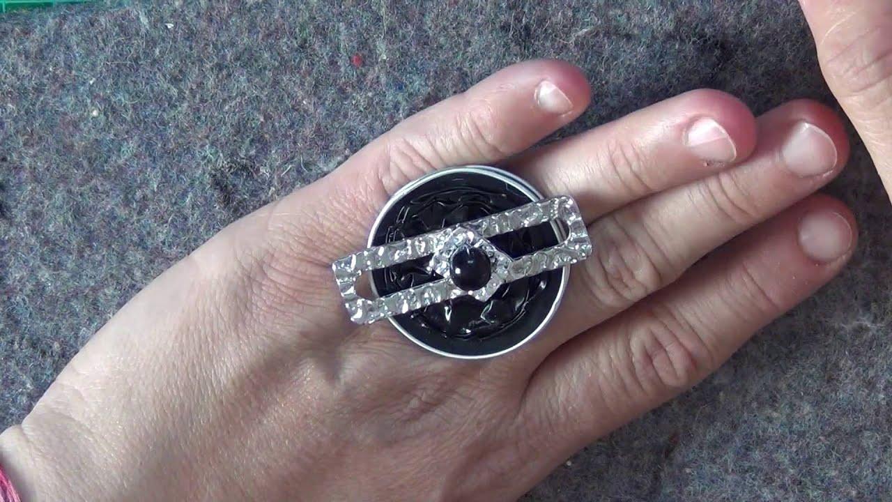 diy anello con capsule nespresso ring with capsules nespresso youtube. Black Bedroom Furniture Sets. Home Design Ideas
