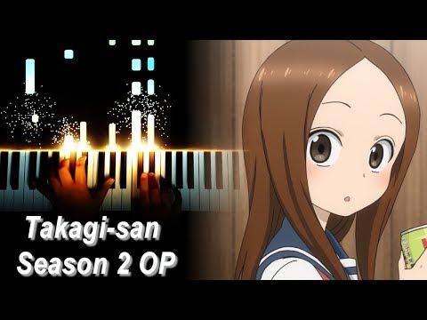 """[Karakai Jouzu No Takagi-san Season 2 OP] """"Zero Centimeters"""" - Yuiko Ohara (Piano)"""