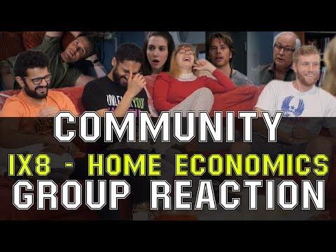Community - 1x8 Home Economics - Group Reaction