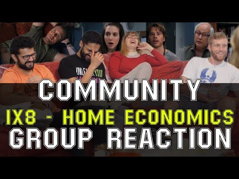 Community - 1x8 Home Economics - Group Reaction