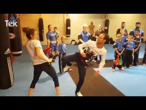 Tek - Jade Jones & Paul Green SEMINAR 2016 - Clip 1