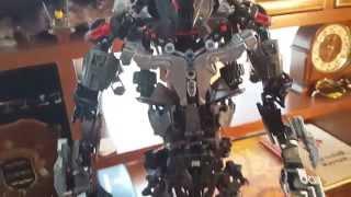 lego Bionicle MOC - MAKUTA Teridax (Titan) обзор