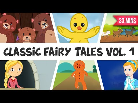 Fairy Tales Compilation | Three Billy Goats Gruff | Rapunzel | Gingerbreadman | And Lots More