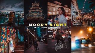 How to edit moody night photos in lightroom mobile   Lightroom mobile preset DNG - CINEMATIC PRESET