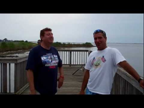 Fishing And Crabbing In Harvey Cedars, Long Beach Island, N.J.
