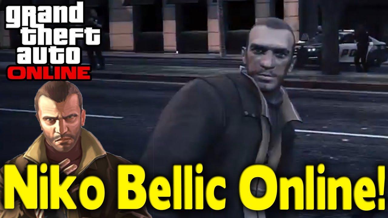 gta 5 niko bellic as playable character mod gta v youtube