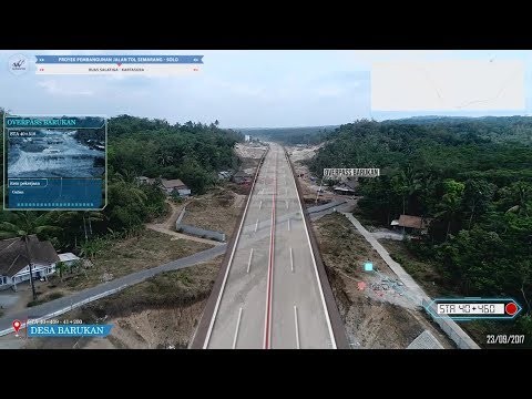 NGELIAAT Proyek Pembangunan Jalan Tol Ruas Salatiga - Kartasura 23/09/2017 | FULL SEKSI