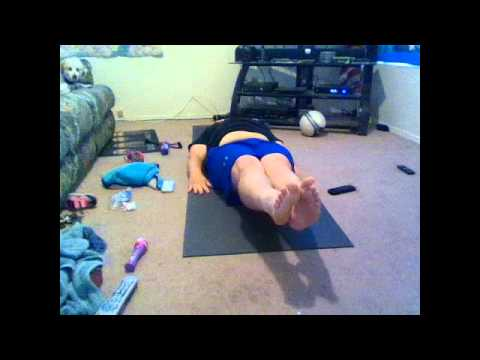 Rev Kev does the Michael Manna Ab challenge