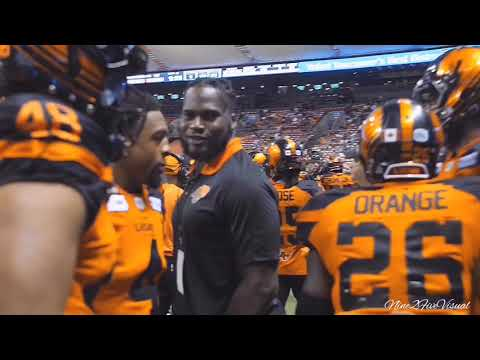 "Anthony Orange | British Columbia Lions | 2018 CFL Highlight | ""Agent Orange"""