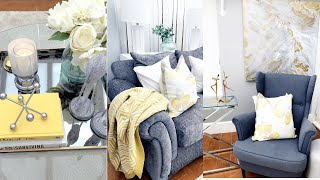 Home Decor 2019: Budget Friendly  Living Space Summer Decor and Idea | How to Decorate on a Budget