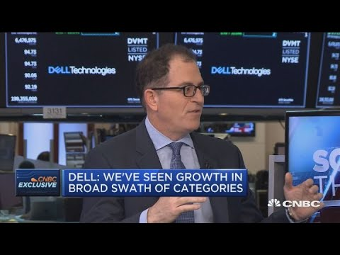 Michael Dell says he is 'optimistic' about the world business economy
