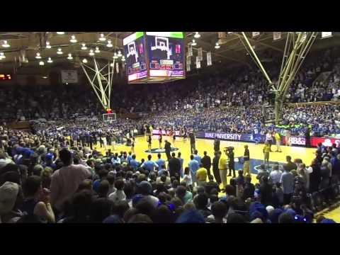 Duke vs Unc The Fan Experience!