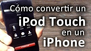 Cómo convertir un iPod touch en un iPhone