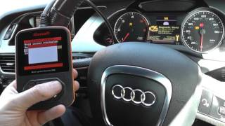 Audi A4 B8 ABS ESP Traction Brake TMPS Reset iCarsoft i908