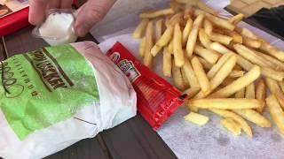 Burger King Crispy Chicken Secret Menu leckeren Burger selber bauen aus BK Zutaten DIY