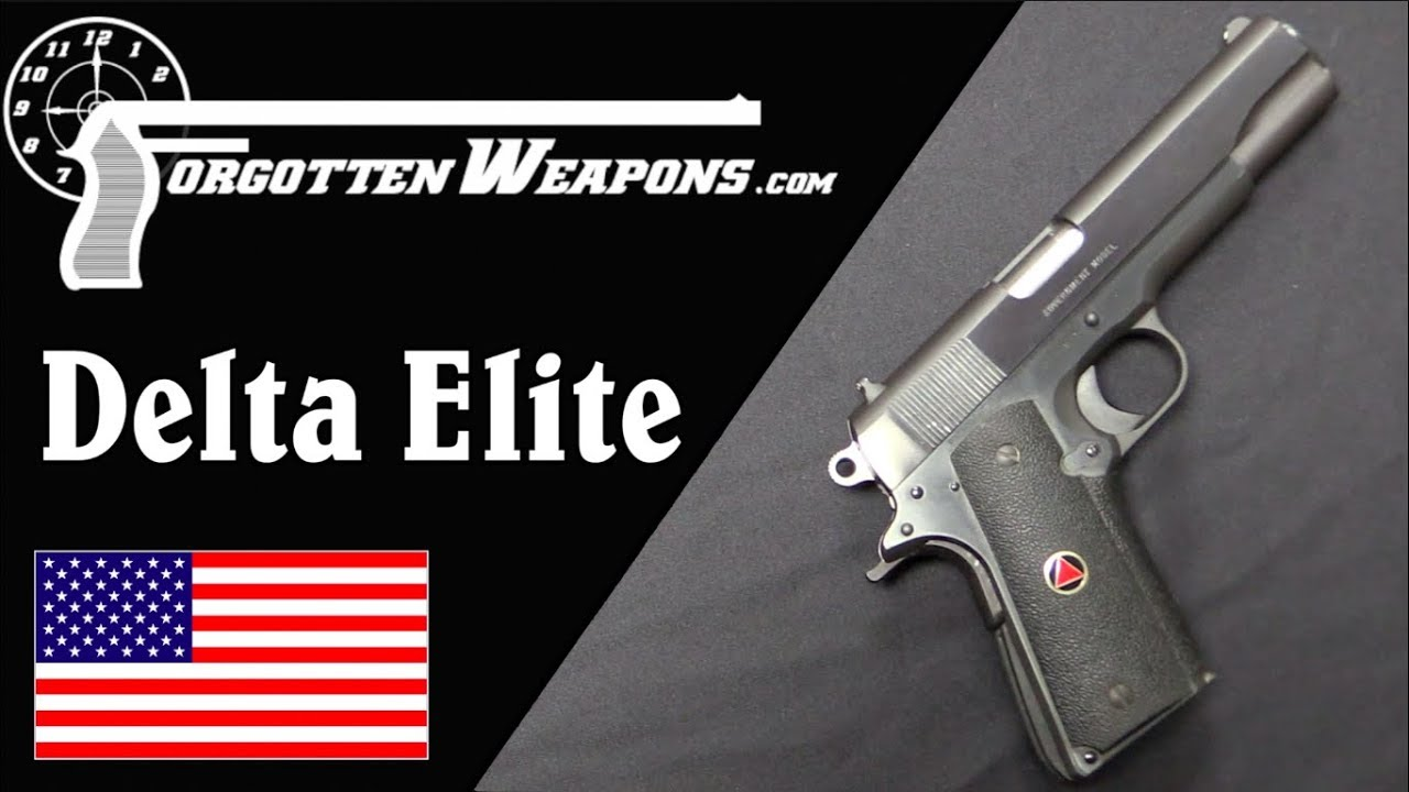 10mm is the Best Millimeter: the Colt Delta Elite – Forgotten Weapons