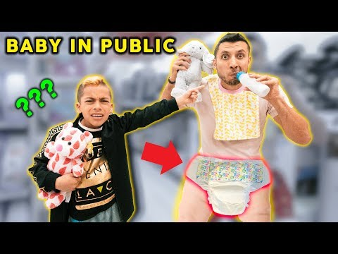 DAD Acts Like a BABY In PUBLIC *SO EMBARRASSING* | The Royalty Family