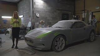 Replica Maserati? Самодельный Монстр С V8