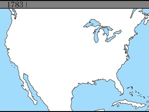 Terratorial Evolution of the Contiguous USA