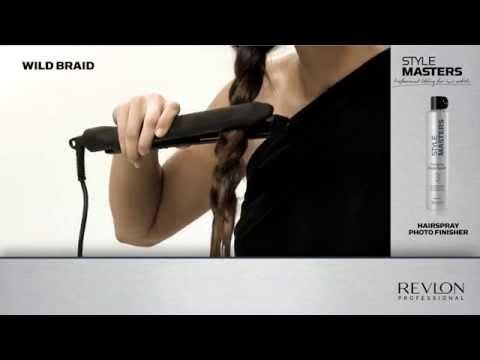 Бърза, лесна и ефектна плитка - идея от Revlon Professional