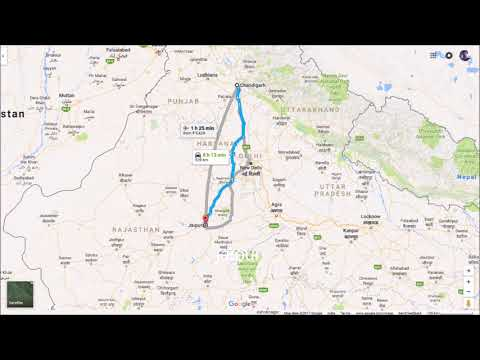 guide to delhi from chandigar and noida