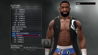 WWE 2K17:Cedric Alexander CAW formula by Canipazos(Xbox 360/PS3)