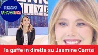 """Barbara D'Urso, la gaffe in diretta su Jasmine Carrisi: """"La figlia di Al Bano e Romina"""""""