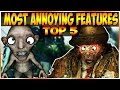 TOP 5 MOST ANNOYING FEATURES IN ZOMBIES - (Call of Duty Zombies)