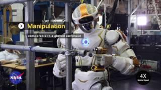 NASA   Valkyrie   Работа руками