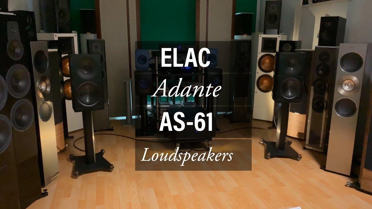ELAC ADANTE Aphrodisiac Loudspeakers! - YouTube