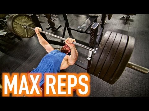 MAX BENCH REPS CHALLENGE!!