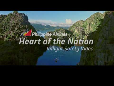 Philippine Airlines' Heart of the Nation Inflight Safety Video