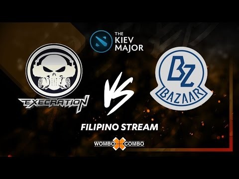 Execration vs Team Bazaar Kiev major SEA Qualifier