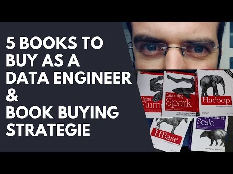 5 Books To Buy As A Data Engineer & My Book Buying Strategy   #051