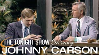Bobby Fischer solves a 15 puzzle in 17 seconds on Carson Tonight Show - 11/08/1972