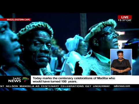 Jacob Zuma speaks at Mandela centenary celebrations