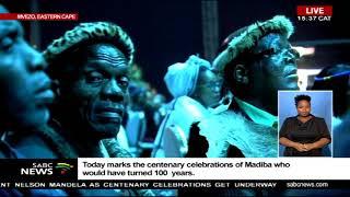 Jacob Zuma speaks at Mandela centenary celebrations