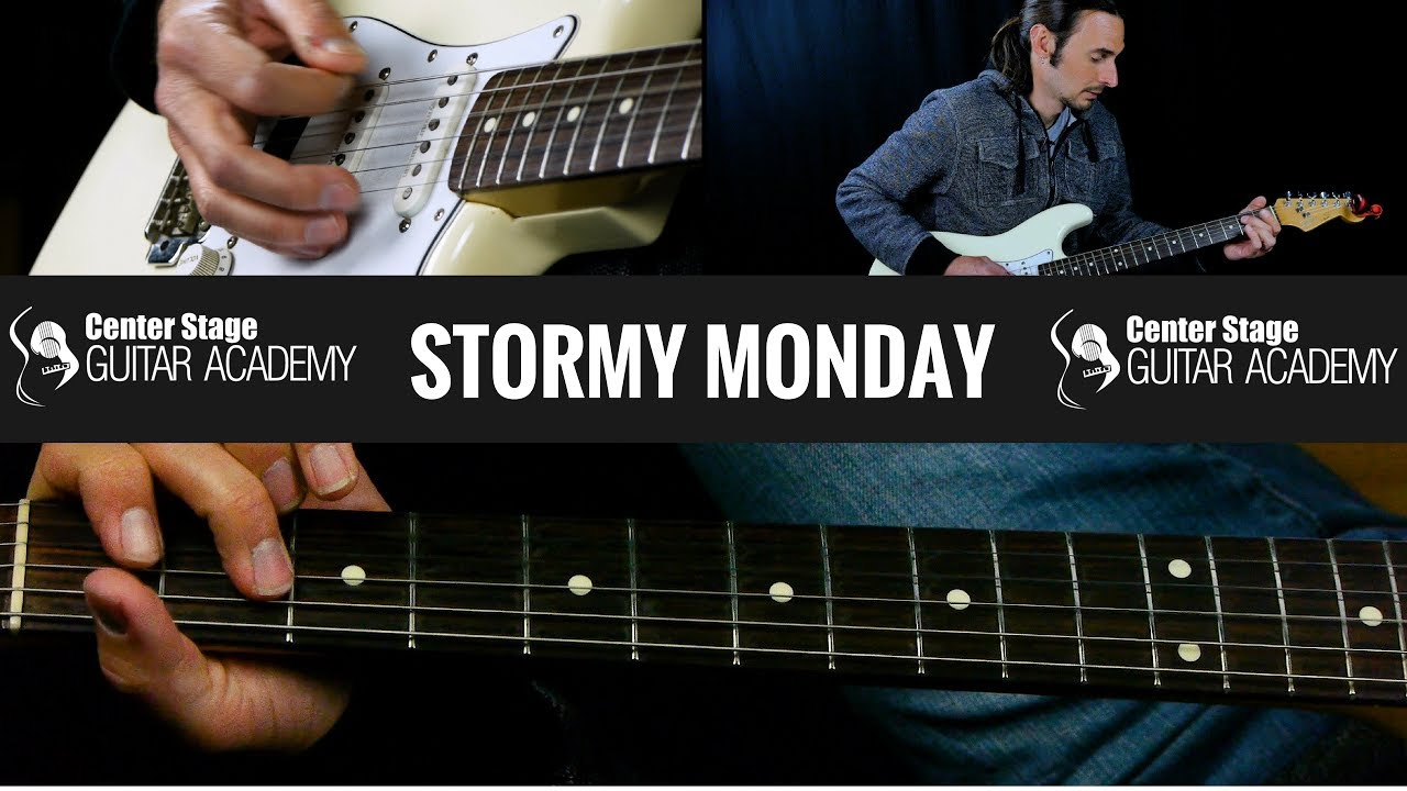Stormy Monday Allman Brothers Guitar Lesson