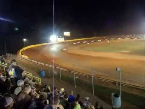 modoc speedway schaellers sounthern nationals series  last five laps