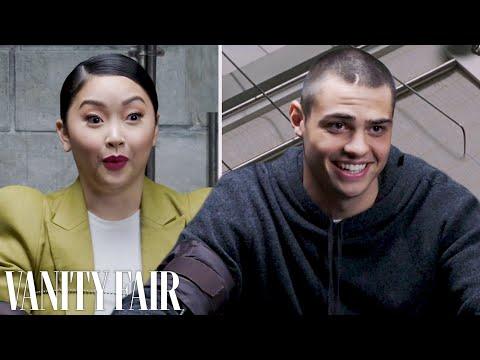 Noah Centineo & Lana Condor Take a Lie Detector Test | Vanity Fair