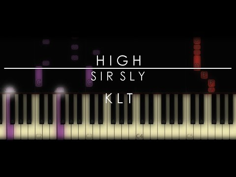 HIGH | Sir Sly Piano Tutorial