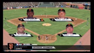 MLB 10 The Show: New York Mets @ San Francisco Giants