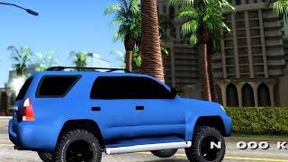 GTA San Andreas - Toyota 4runner 2009 Full Off Road EnRoMovies