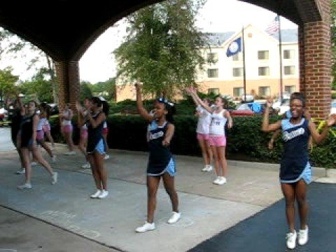 Indian River High School Cheerleaders Rally The Crowd