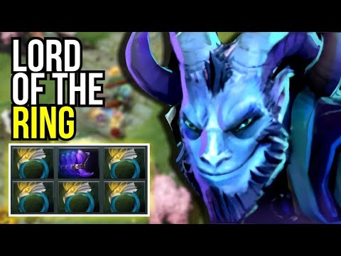 LORD OF THE RING  Sumail 5x Ring of Aquilla Starting Items by Sumail 7.13  Dota 2