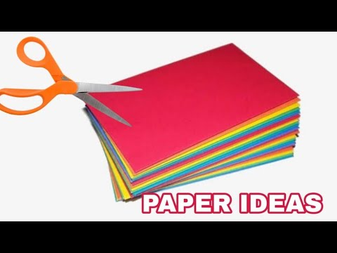 5 Awesome paper ideas|which will blow your mind|Easy DIY crafts