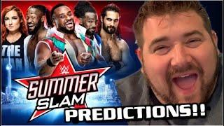 WWE SUMMERSLAM 2019 Predictions - NEW GIRLFRIEND REVEAL!